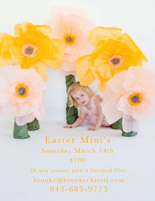 Easter Mini Sessions